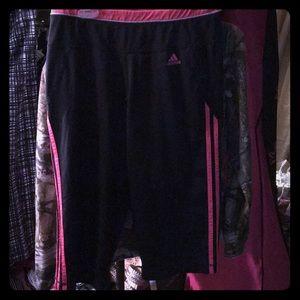 Adidas Capri exercise pants